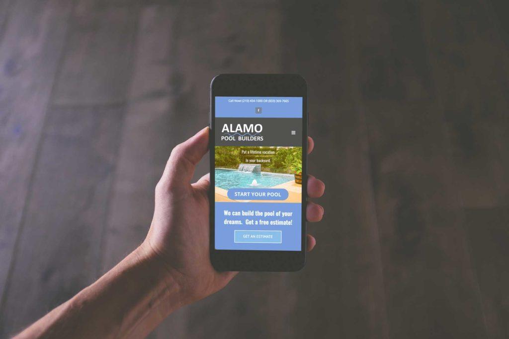 San Antonio Website Mobile
