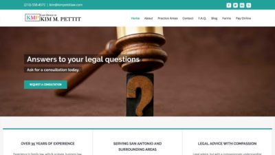 Law Offices of Kim Pettit Family Law San Antonio
